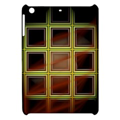 Drawing Of A Color Fractal Window Apple Ipad Mini Hardshell Case by Amaryn4rt