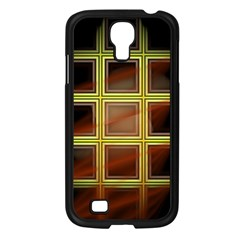 Drawing Of A Color Fractal Window Samsung Galaxy S4 I9500/ I9505 Case (black) by Amaryn4rt