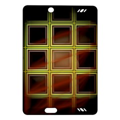 Drawing Of A Color Fractal Window Amazon Kindle Fire Hd (2013) Hardshell Case by Amaryn4rt