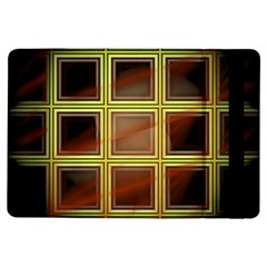 Drawing Of A Color Fractal Window Ipad Air Flip by Amaryn4rt