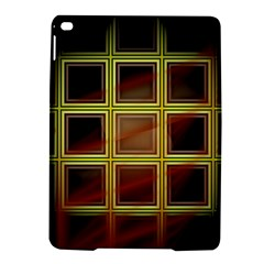 Drawing Of A Color Fractal Window Ipad Air 2 Hardshell Cases