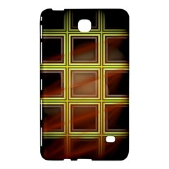 Drawing Of A Color Fractal Window Samsung Galaxy Tab 4 (8 ) Hardshell Case  by Amaryn4rt