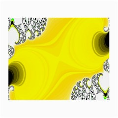 Fractal Abstract Background Small Glasses Cloth by Amaryn4rt