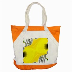 Fractal Abstract Background Accent Tote Bag by Amaryn4rt