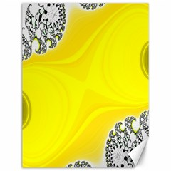 Fractal Abstract Background Canvas 12  X 16