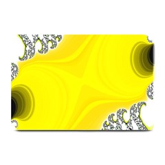 Fractal Abstract Background Plate Mats by Amaryn4rt