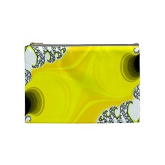 Fractal Abstract Background Cosmetic Bag (medium)  by Amaryn4rt