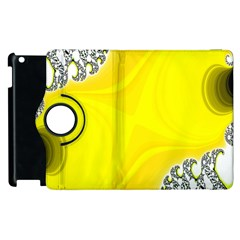 Fractal Abstract Background Apple Ipad 3/4 Flip 360 Case by Amaryn4rt