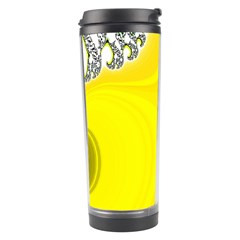 Fractal Abstract Background Travel Tumbler by Amaryn4rt