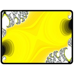 Fractal Abstract Background Double Sided Fleece Blanket (large)  by Amaryn4rt