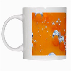 Bubbles Background White Mugs by Amaryn4rt