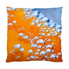 Bubbles Background Standard Cushion Case (one Side) by Amaryn4rt
