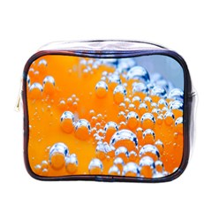Bubbles Background Mini Toiletries Bags by Amaryn4rt