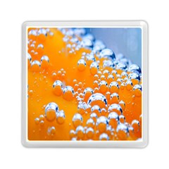 Bubbles Background Memory Card Reader (square)  by Amaryn4rt
