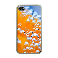 Bubbles Background Apple Iphone 4 Case (clear) by Amaryn4rt