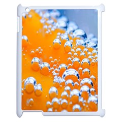Bubbles Background Apple Ipad 2 Case (white) by Amaryn4rt