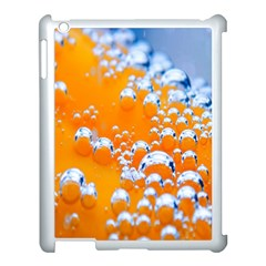 Bubbles Background Apple Ipad 3/4 Case (white) by Amaryn4rt