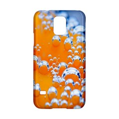 Bubbles Background Samsung Galaxy S5 Hardshell Case  by Amaryn4rt