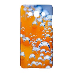 Bubbles Background Samsung Galaxy A5 Hardshell Case  by Amaryn4rt