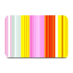 Multi Colored Bright Stripes Striped Background Wallpaper Plate Mats by Amaryn4rt