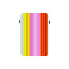 Multi Colored Bright Stripes Striped Background Wallpaper Apple Ipad Mini Protective Soft Cases by Amaryn4rt