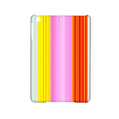 Multi Colored Bright Stripes Striped Background Wallpaper Ipad Mini 2 Hardshell Cases by Amaryn4rt