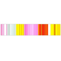 Multi Colored Bright Stripes Striped Background Wallpaper Flano Scarf (large) by Amaryn4rt