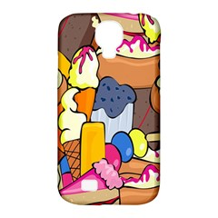 Sweet Stuff Digitally Created Sweet Food Wallpaper Samsung Galaxy S4 Classic Hardshell Case (pc+silicone) by Amaryn4rt