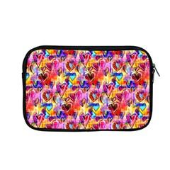 Spring Hearts Bohemian Artwork Apple Macbook Pro 13  Zipper Case by KirstenStar
