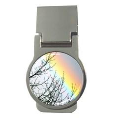 Rainbow Sky Spectrum Rainbow Colors Money Clips (round)  by Amaryn4rt