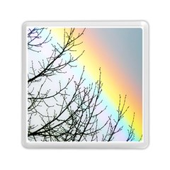 Rainbow Sky Spectrum Rainbow Colors Memory Card Reader (square)  by Amaryn4rt