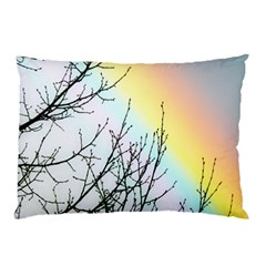 Rainbow Sky Spectrum Rainbow Colors Pillow Case (two Sides) by Amaryn4rt