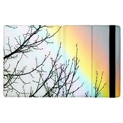 Rainbow Sky Spectrum Rainbow Colors Apple Ipad 3/4 Flip Case by Amaryn4rt