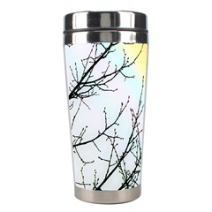 Rainbow Sky Spectrum Rainbow Colors Stainless Steel Travel Tumblers by Amaryn4rt