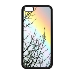 Rainbow Sky Spectrum Rainbow Colors Apple Iphone 5c Seamless Case (black) by Amaryn4rt