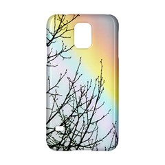Rainbow Sky Spectrum Rainbow Colors Samsung Galaxy S5 Hardshell Case  by Amaryn4rt