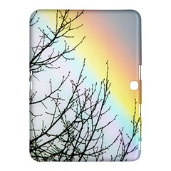 Rainbow Sky Spectrum Rainbow Colors Samsung Galaxy Tab 4 (10 1 ) Hardshell Case  by Amaryn4rt