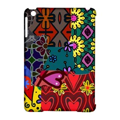 Digitally Created Abstract Patchwork Collage Pattern Apple Ipad Mini Hardshell Case (compatible With Smart Cover) by Amaryn4rt