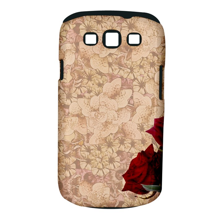 Retro Background Scrapbooking Paper Samsung Galaxy S III Classic Hardshell Case (PC+Silicone)