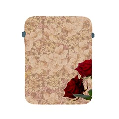 Retro Background Scrapbooking Paper Apple Ipad 2/3/4 Protective Soft Cases by Amaryn4rt