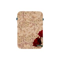 Retro Background Scrapbooking Paper Apple Ipad Mini Protective Soft Cases by Amaryn4rt