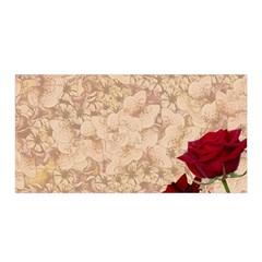 Retro Background Scrapbooking Paper Satin Wrap by Amaryn4rt
