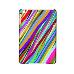 Multi Color Tangled Ribbons Background Wallpaper Ipad Mini 2 Hardshell Cases by Amaryn4rt