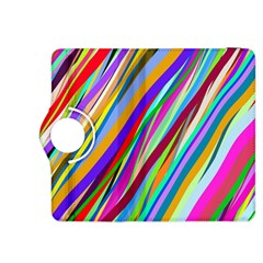 Multi Color Tangled Ribbons Background Wallpaper Kindle Fire Hdx 8 9  Flip 360 Case by Amaryn4rt