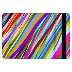 Multi Color Tangled Ribbons Background Wallpaper Ipad Air Flip by Amaryn4rt