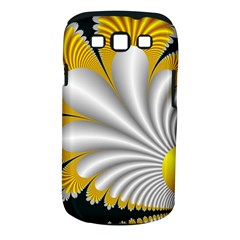 Fractal Gold Palm Tree On Black Background Samsung Galaxy S Iii Classic Hardshell Case (pc+silicone) by Amaryn4rt