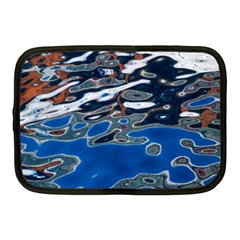 Colorful Reflections In Water Netbook Case (medium)  by Amaryn4rt