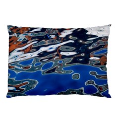 Colorful Reflections In Water Pillow Case by Amaryn4rt