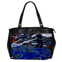Colorful Reflections In Water Office Handbags by Amaryn4rt
