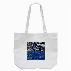 Colorful Reflections In Water Tote Bag (white) by Amaryn4rt
